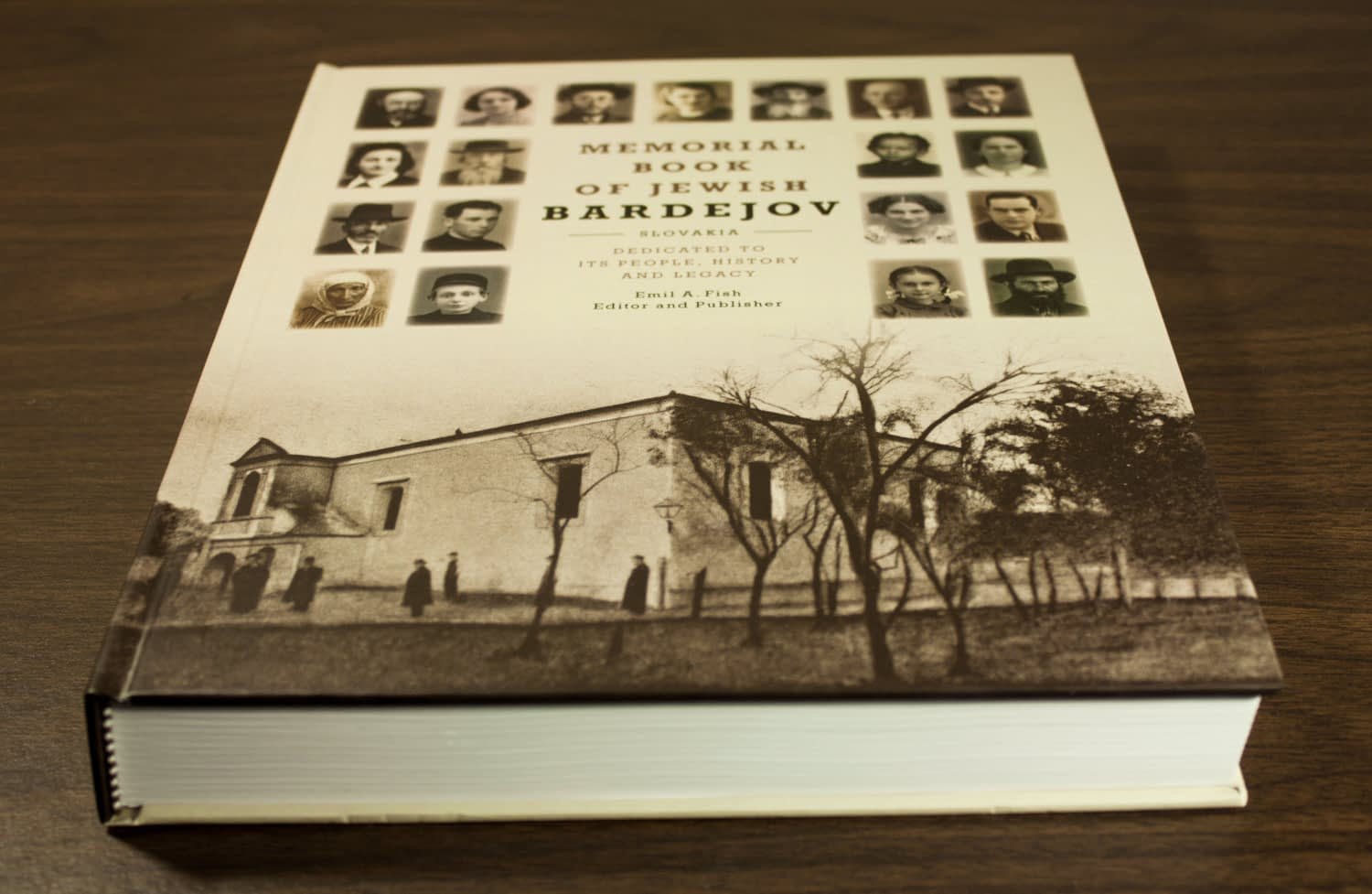 The Memorial Book of Jewish Bardejov