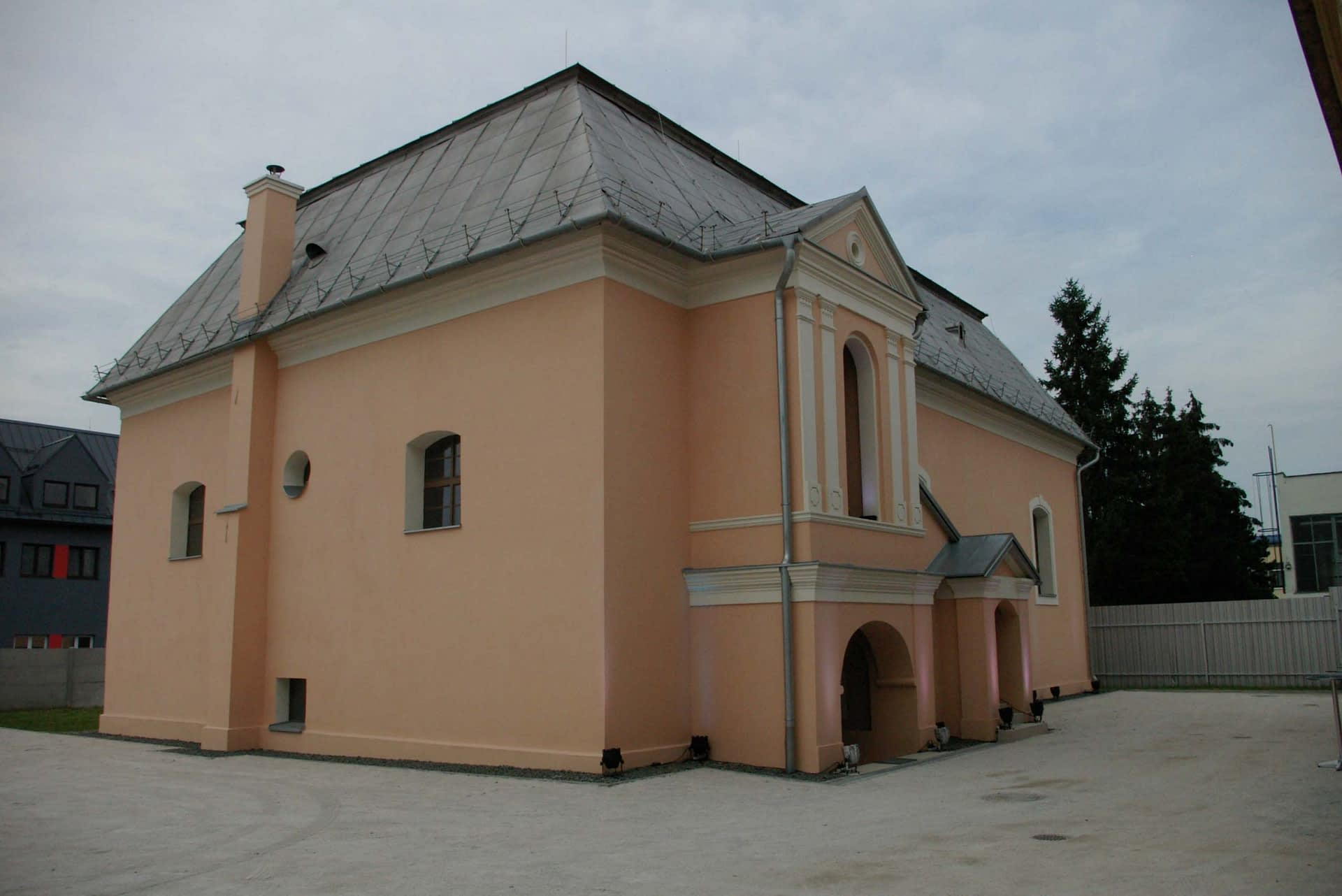 Exterior of the renovated Bardejov Old Synagogue