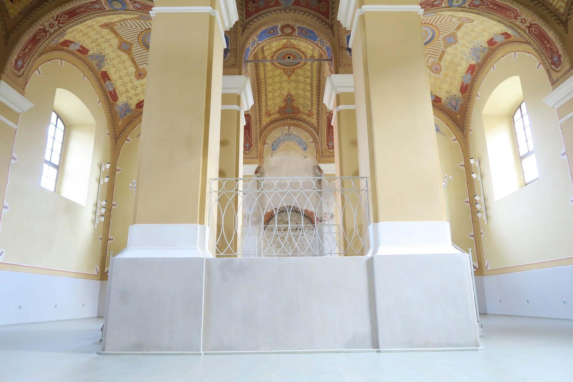 Renovated interior of Bardejov Old Synagogue