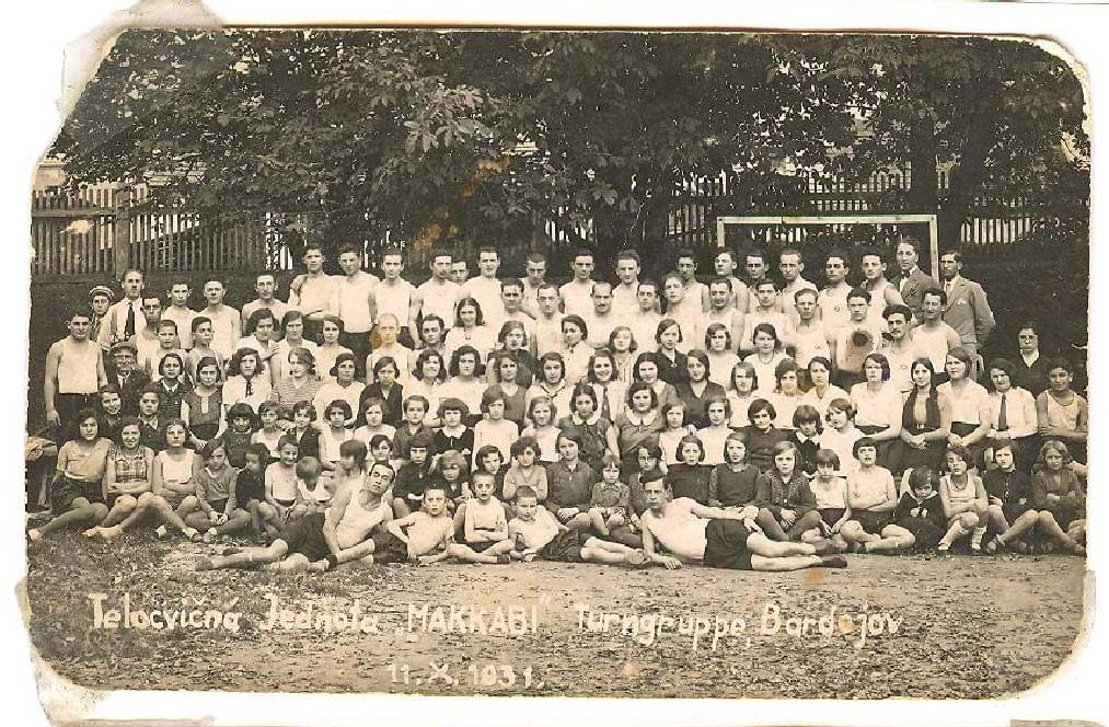 1931 Bardejov Maccabee group