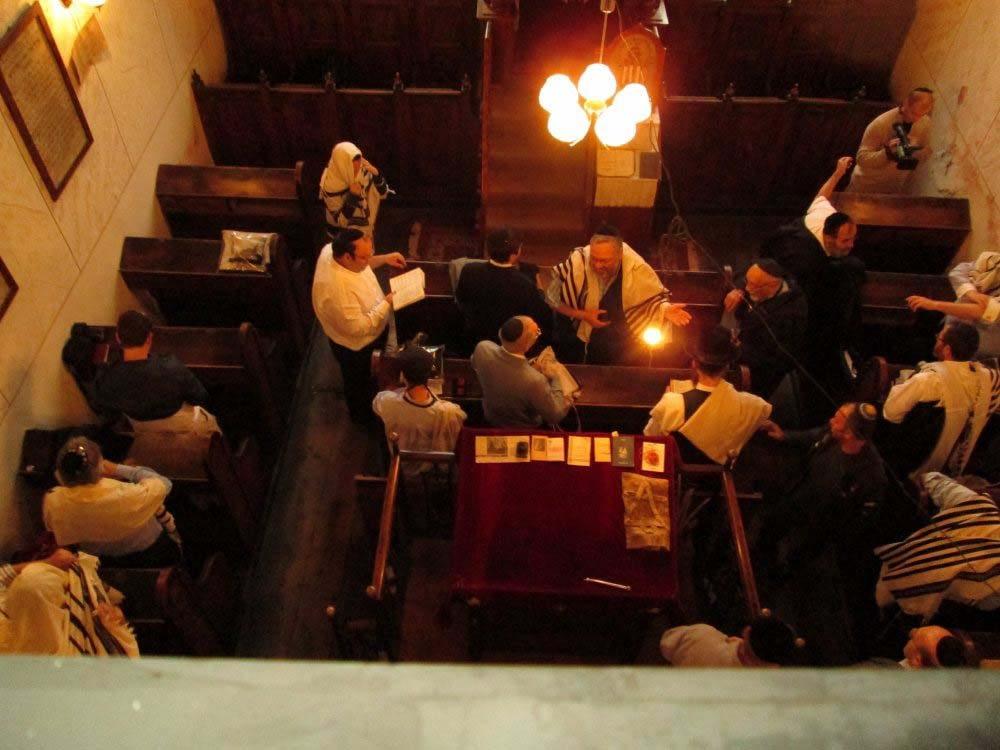 Evening Davening during 2012 gathering