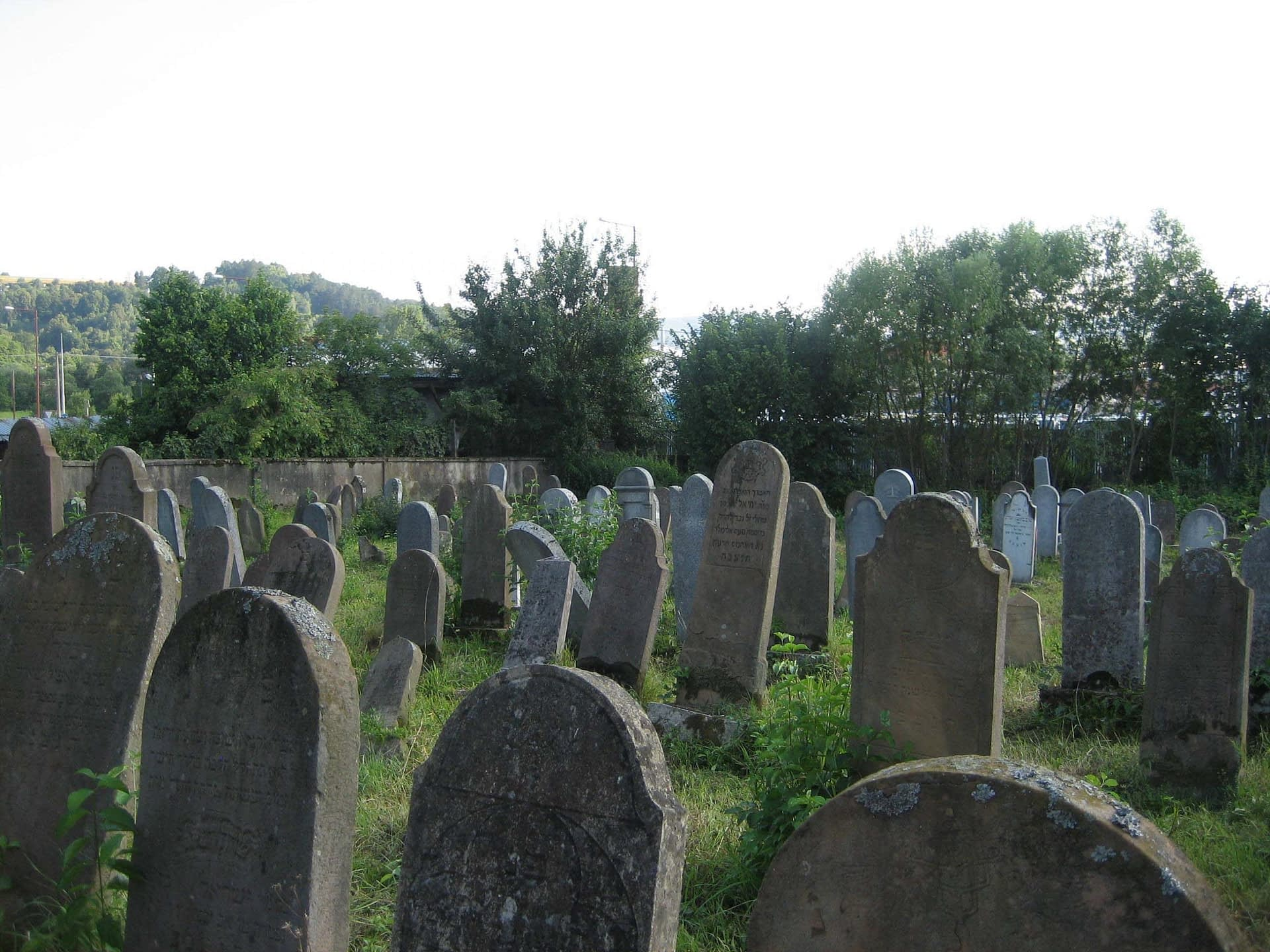 2005 - Cemetery before restoration