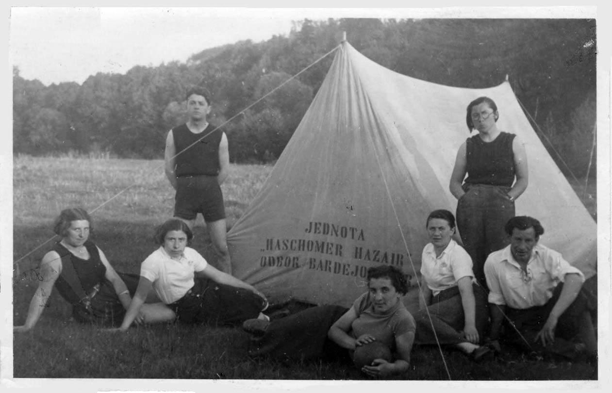 1931 Hashomer Hatzair Bardejov, Zionist group Campout