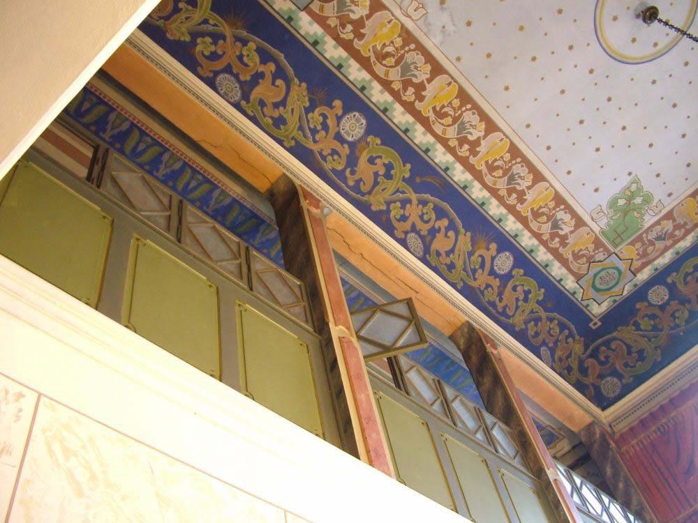 Bikur Cholim Ceiling and women's gallery