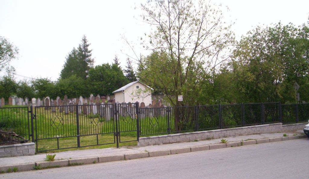 2009 - Jewish Cemetery after restoration