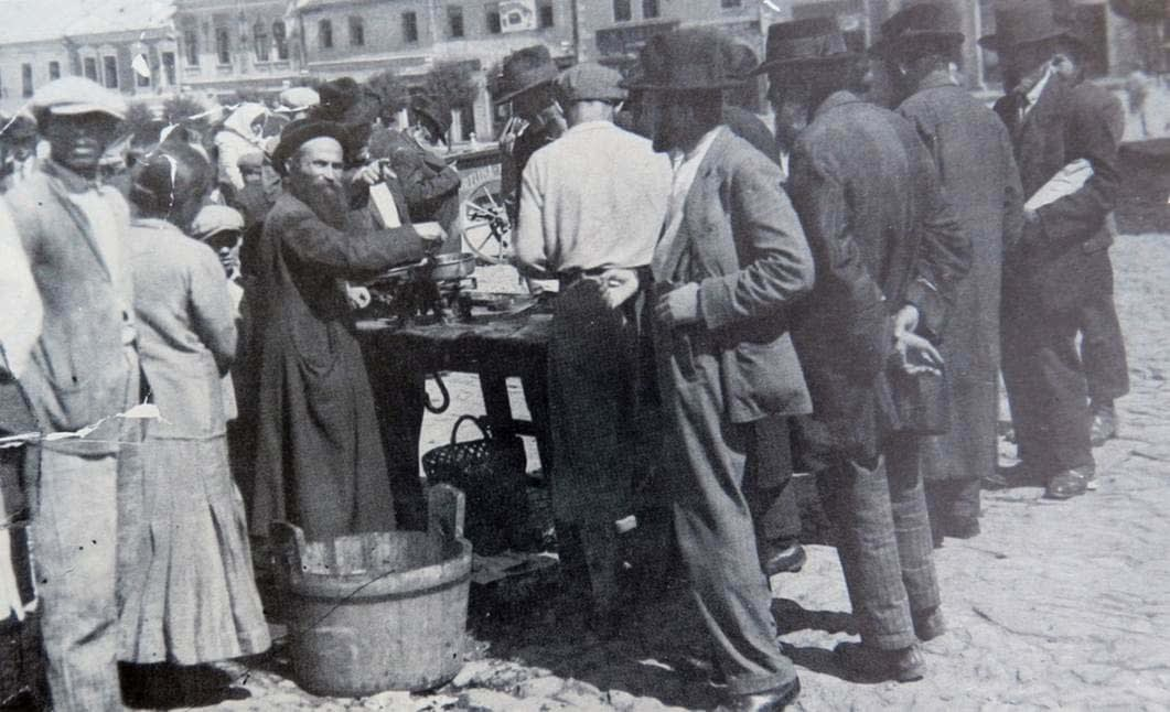 1937 Market Day in Bardejov