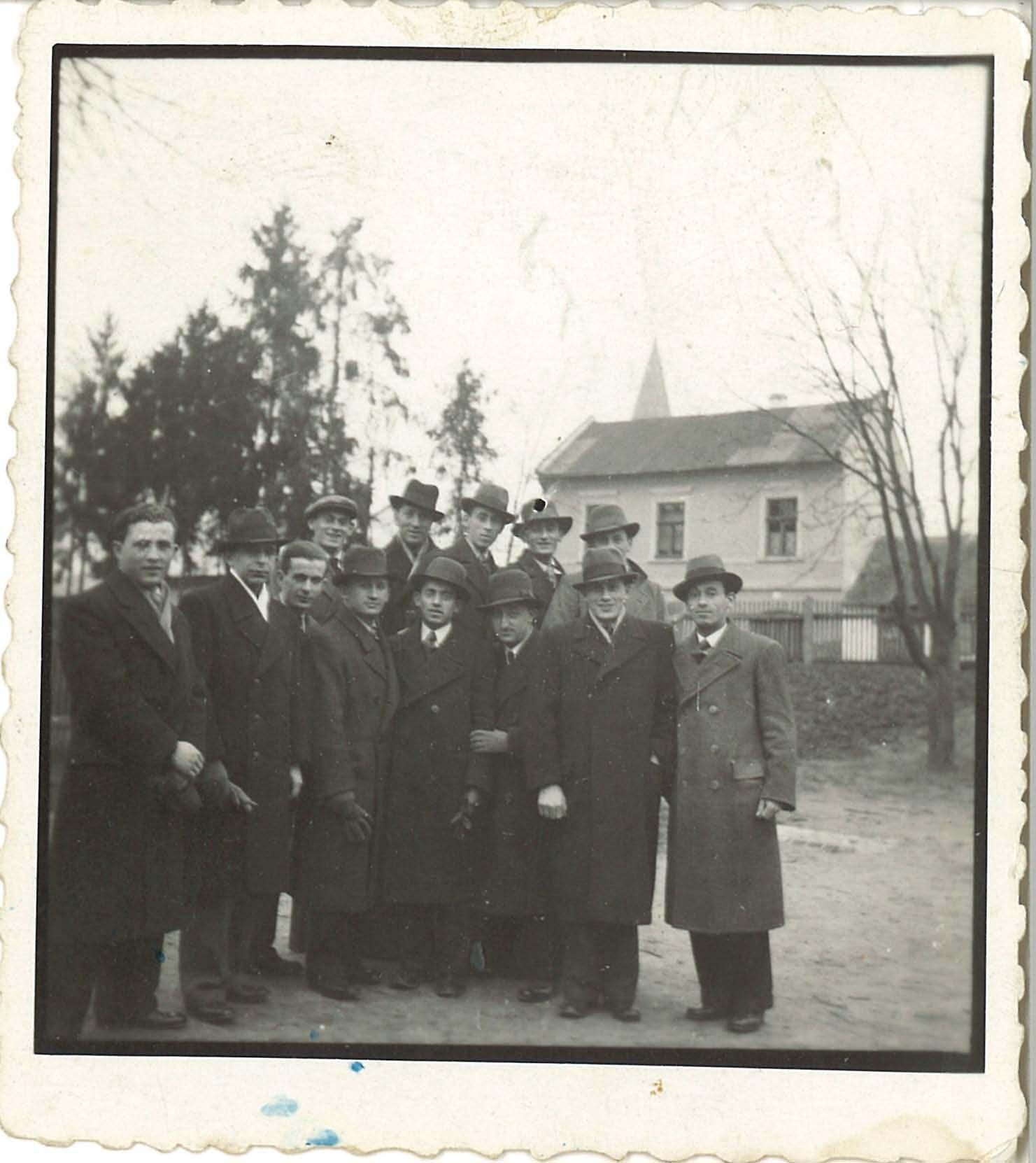 On back: 1934, Bardejov, Fudem