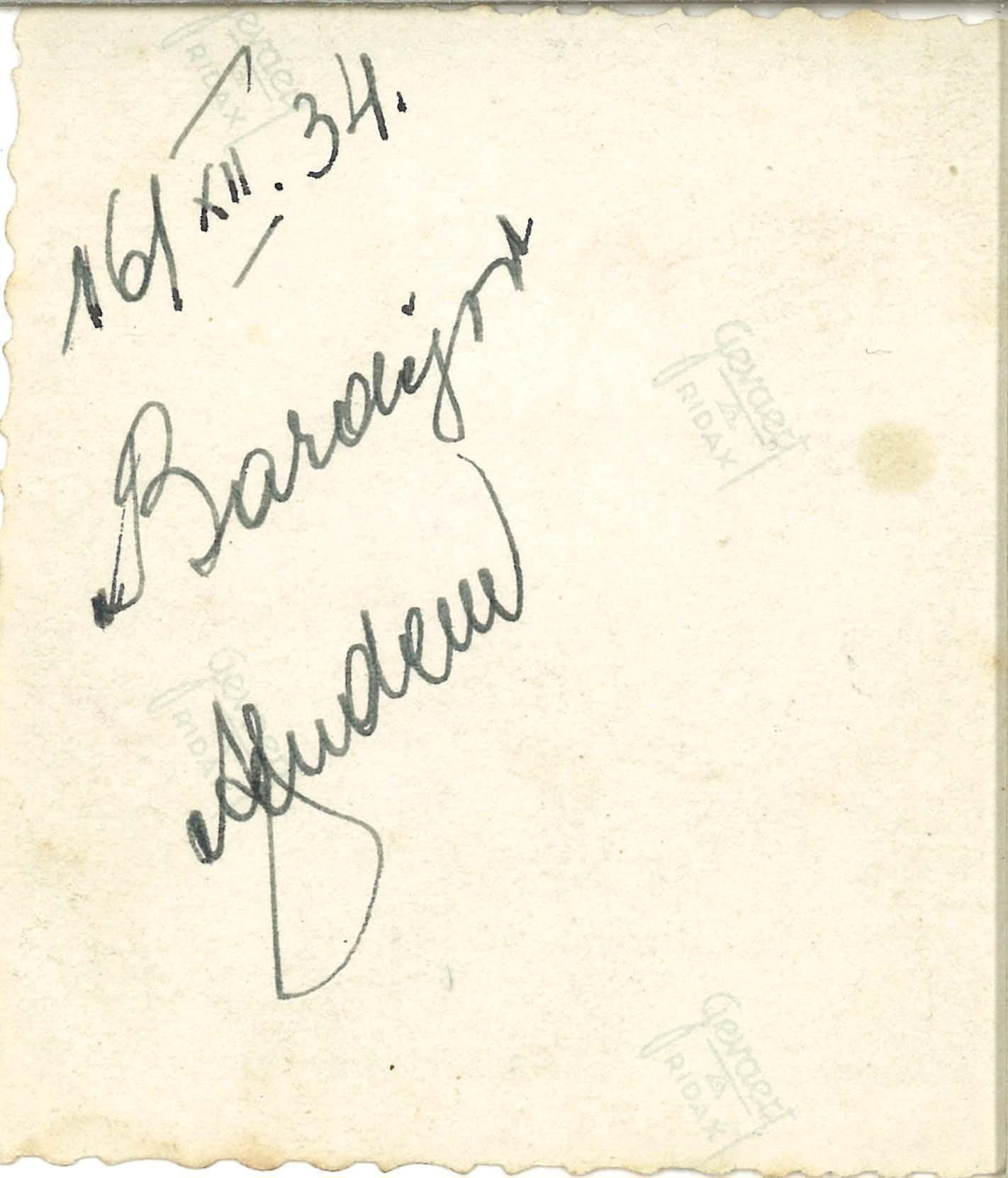 1934, Bardejov, Fudem