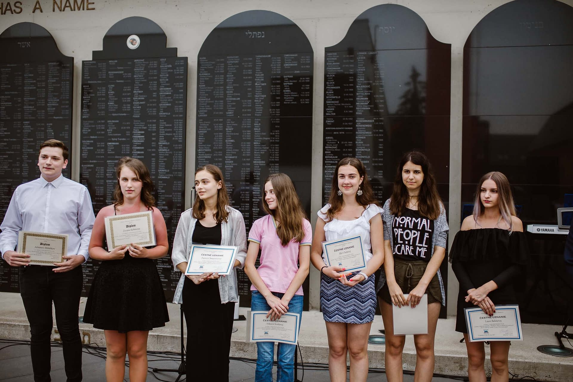 This year's Essay Contest participants