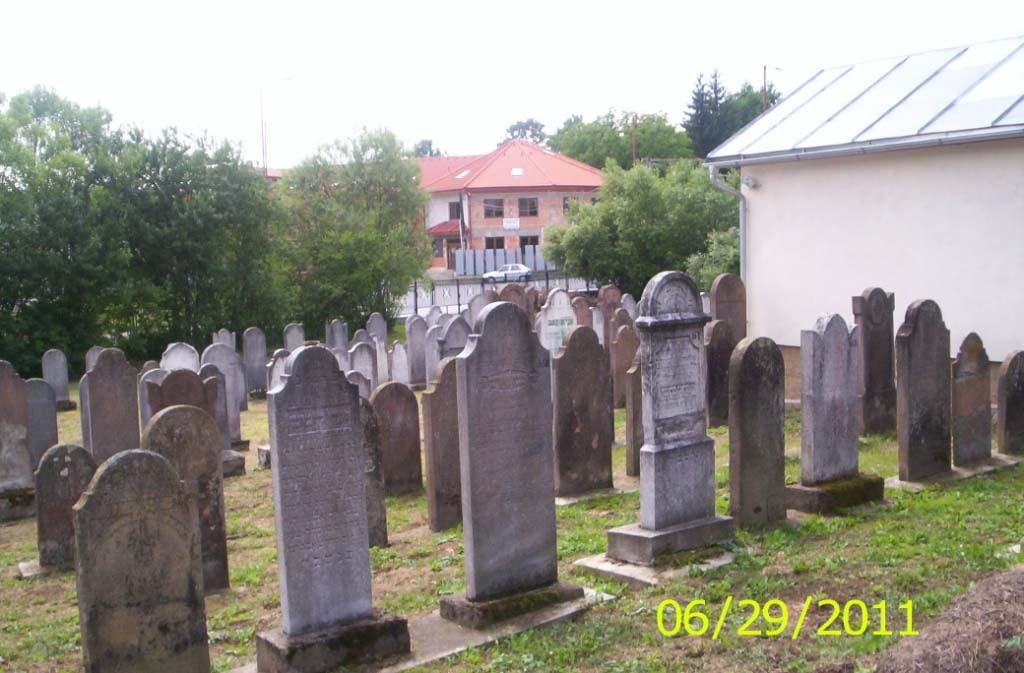 2011 - Jewish Cemetery after restoration