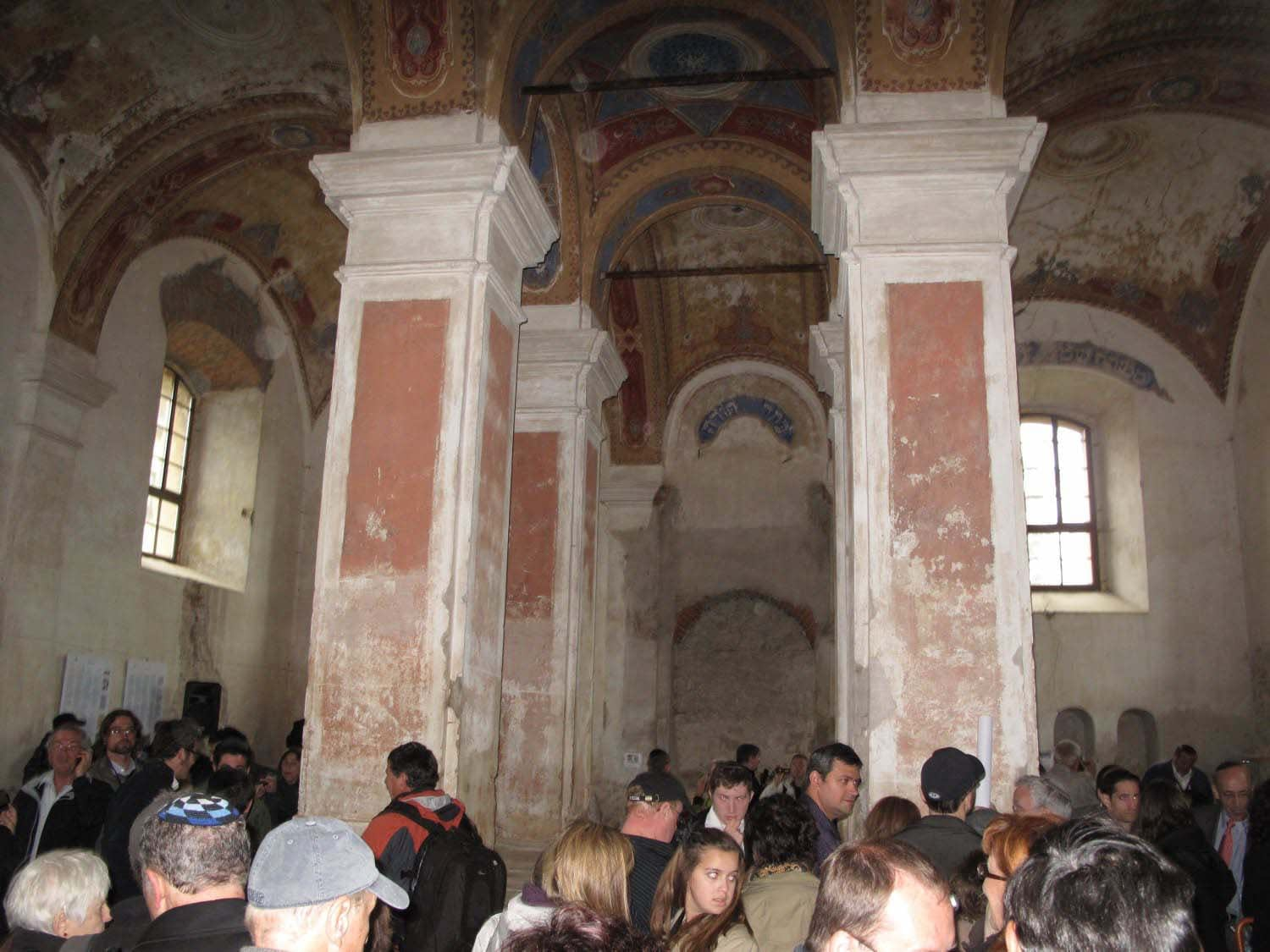 May 2012 Commemoration Gathering in Bardejov Old Synagogue