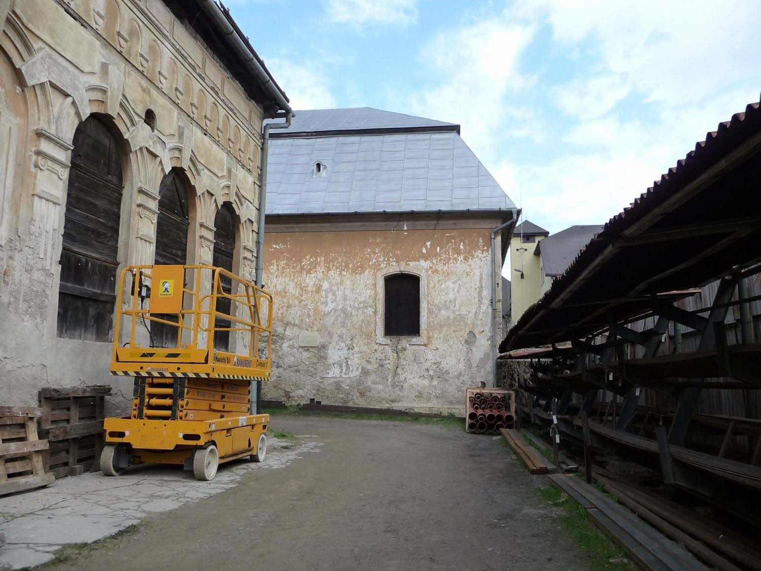 Beith Hamidrash and the Old Synagogue
