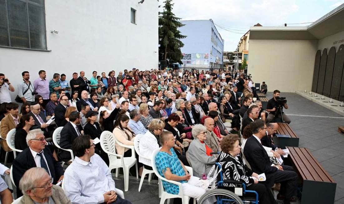 Approximately 400 people attended the event