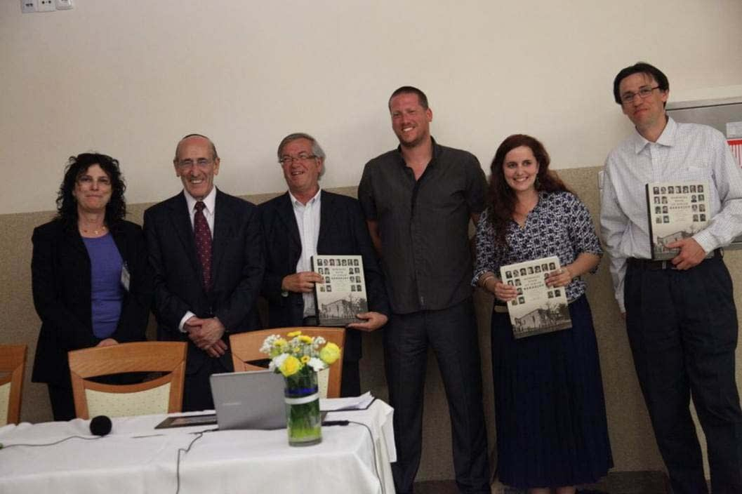 The Architecture Team receive their Memorial Books